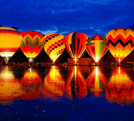 Hot Air Balloon Safari in Pushkar Fair