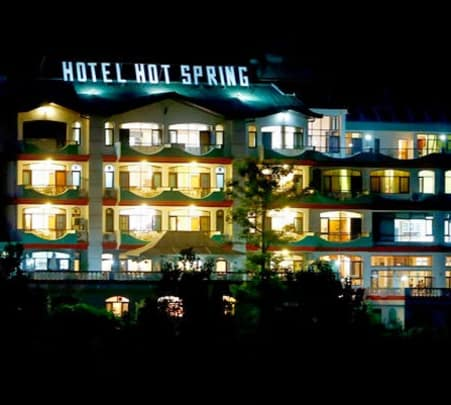 Luxury Stay at Hotspring Resort, Shimla