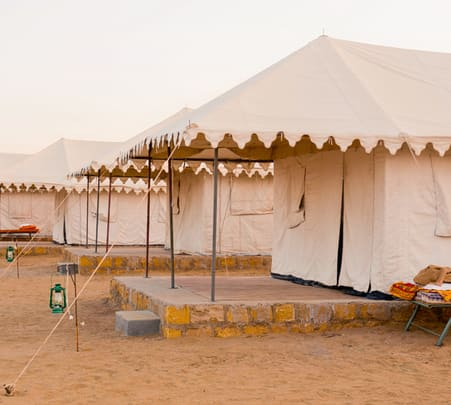 Luxury Camping in Jaisalmer with Camel Safari
