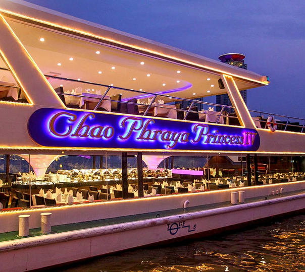 Dinner Cruise with Live Music in Bangkok