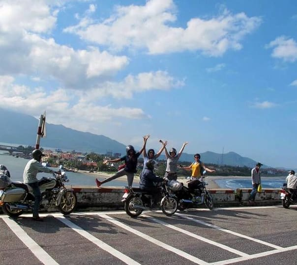 Motorcycle Tour to Hoi An-marble Mountain-hai Van Pass-hue in Vietnam