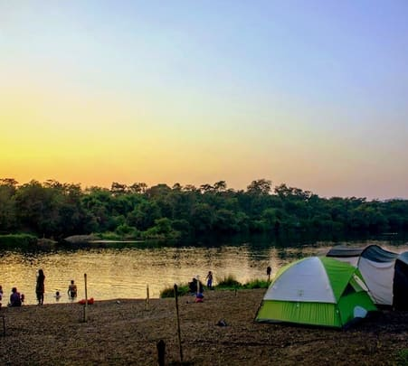 River Side Camping at Vasind near Mumbai