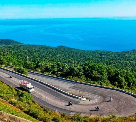 Danang Mountains and Beach Motorcycle Trip in Vietnam