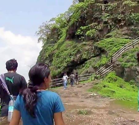 Monsoon Trek to Rajmachi and Kondana Cave Waterfalls, Lonavala