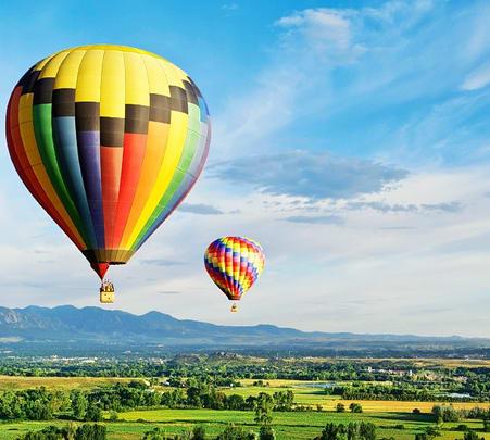Hot Air Ballooning at Kandalama Lake in Sri lanka