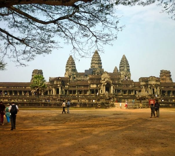 Angkor Wat Temple Visit in Cambodia
