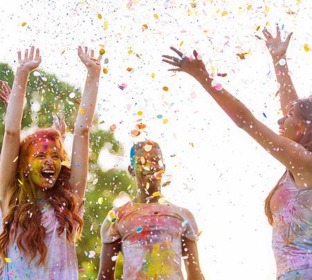 Celebrate Holi near Pavana Lake, Lonavala