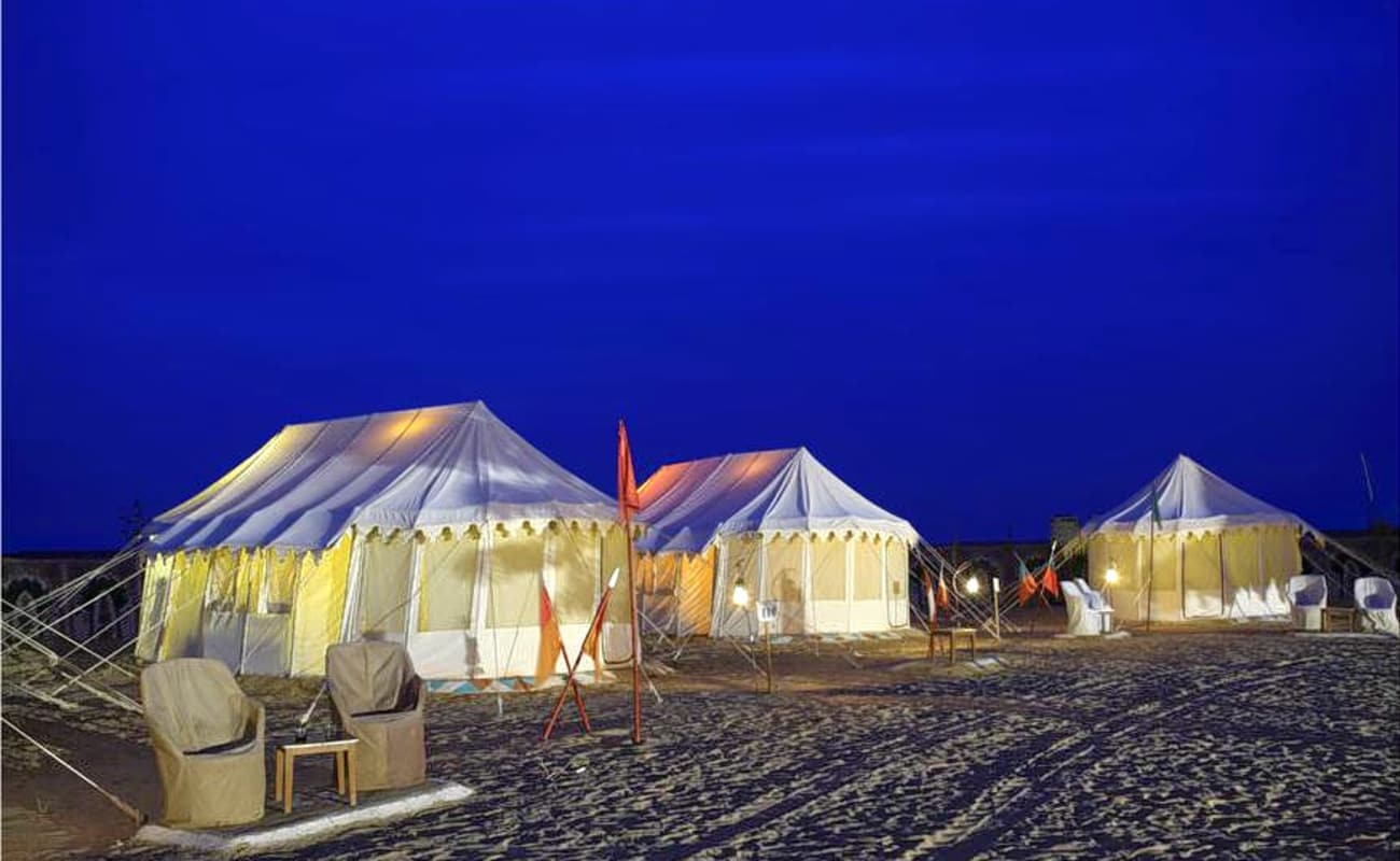 Combo Desert Camping In Jaisalmer With Camel Safari And