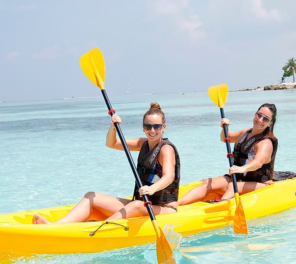 Banana Boat Ride in Maldives
