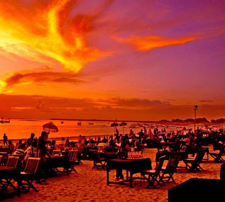 Sunset and Dinner Tour in Bali