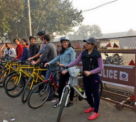 Old Delhi Bicycle Tour