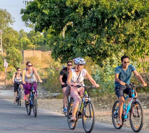 Incredible Country Side Cycling Tour of Jaipur