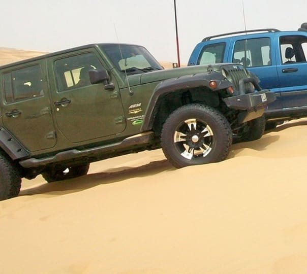 Jeep Safari at the Dunes in Dausa