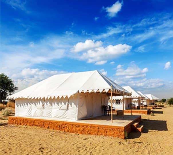 Stay in Desert Camp with Activities in Jaisalmer