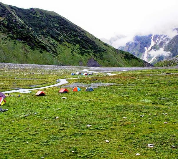 Adventure Trekking at Beas Kund, Manali