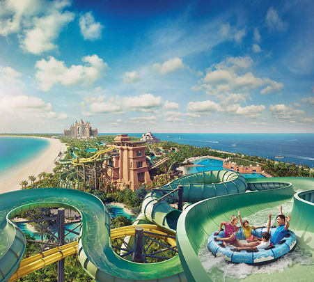 Aquaventure Waterpark Dubai Tickets - Flat 9% off