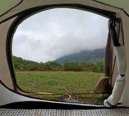 Hilltop Camping in Vagamon, Kerala
