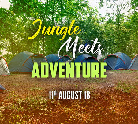Jungle Camping Event in Samardha, Bhopal