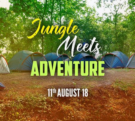 Jungle Camping Event in Samardha, Bhopal