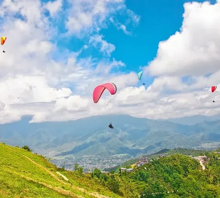 Combo: Paragliding with Zip-flyer in Nepal