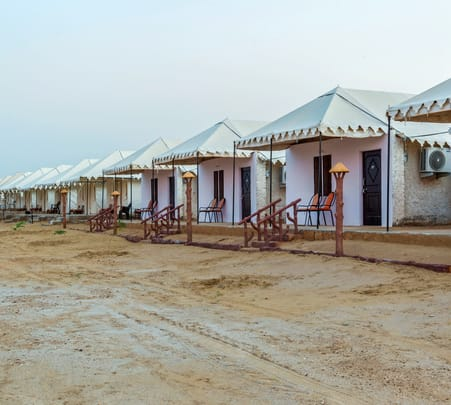 Stay in Desert Camp with Activities in Jaisalmer Flat 40% off