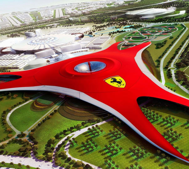 Tour of Abu Dhabi City and Ferrari World