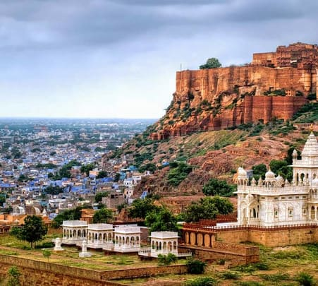 Jodhpur Sightseeing Tour in Tuk Tuk