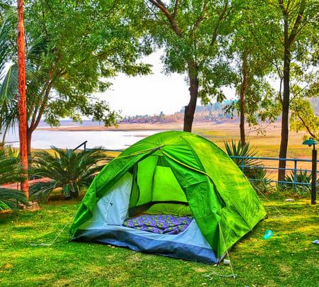 Camping at Backwaters of Narmada, Jabalpur