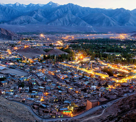 Leh Ladakh Honeymoon Package from Mumbai