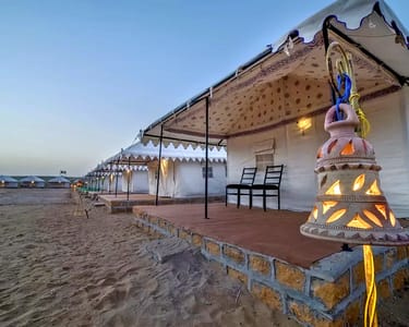 Camping in Jaisalmer with Jeep Safari Flat 45% off