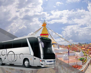 Shared Bus Transfers from Kathmandu to Pokhara - Flat 15% off