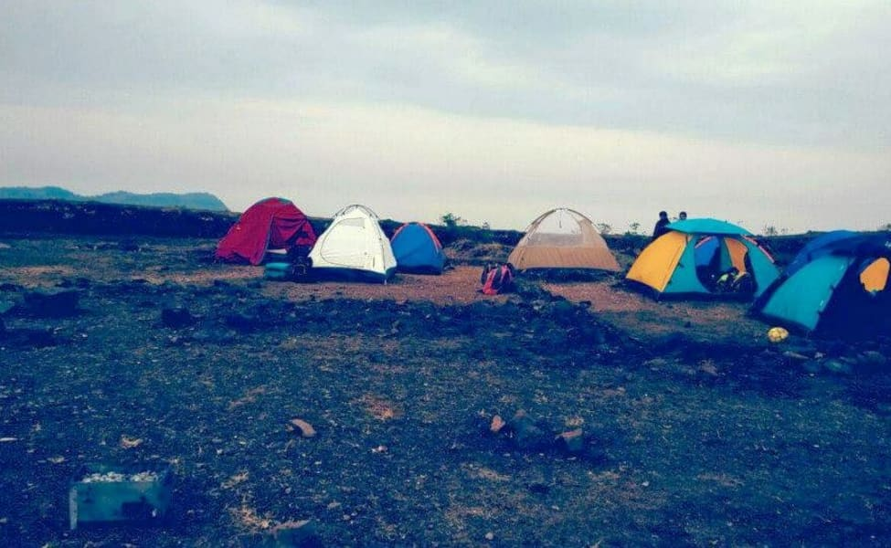 Night Trek And Camping At Koarigad In Lonavala