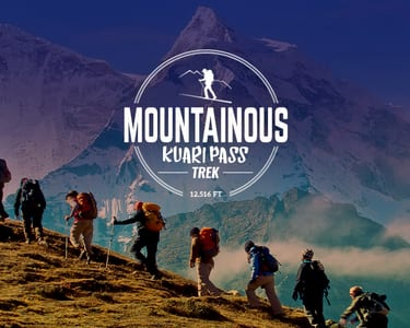 Kuari Pass Trek 2020, Uttarakhand | Upto 30% off