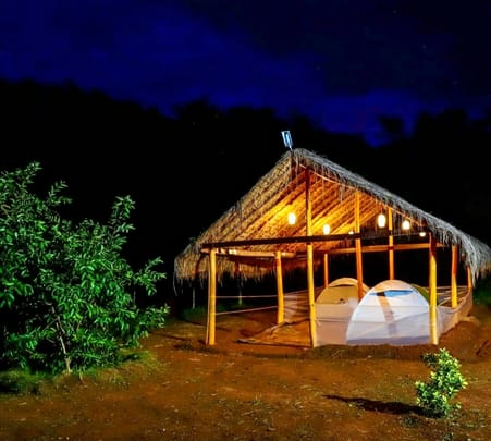 Riverside Camping in Coorg