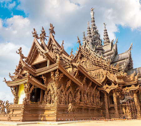 The Sanctuary of Truth Admission Ticket, Pattaya - Flat 22% off