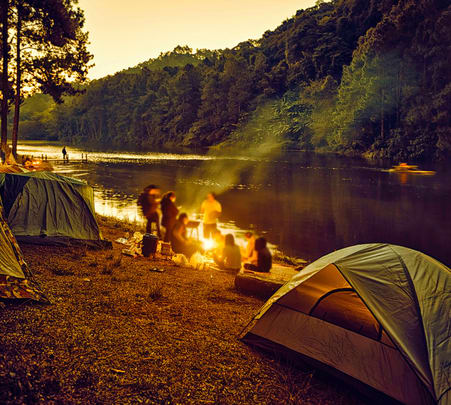 Riverside Camping in Sakleshpur, Chikmagalur - Flat 20% off
