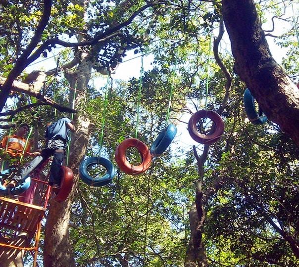Adventure Activities at Tungareshwar
