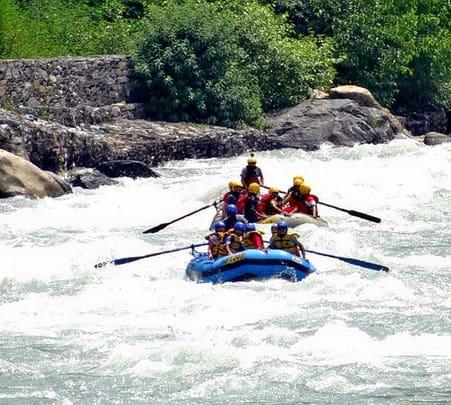 Kulu- Manali White Water Rafting Trip
