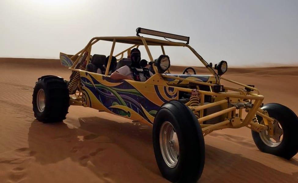 V8 Dune Buggy Ride In Dubai