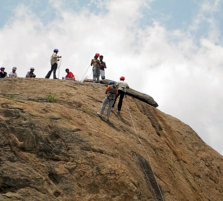 Upto 20% off - Team Outing in Ramanagara Adventure Camp