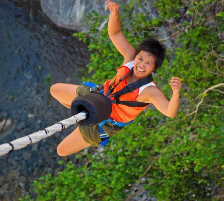Bungee Jumping at Pattaya