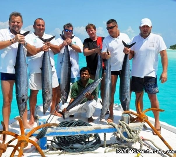 Day Fishing Trip in Maldives