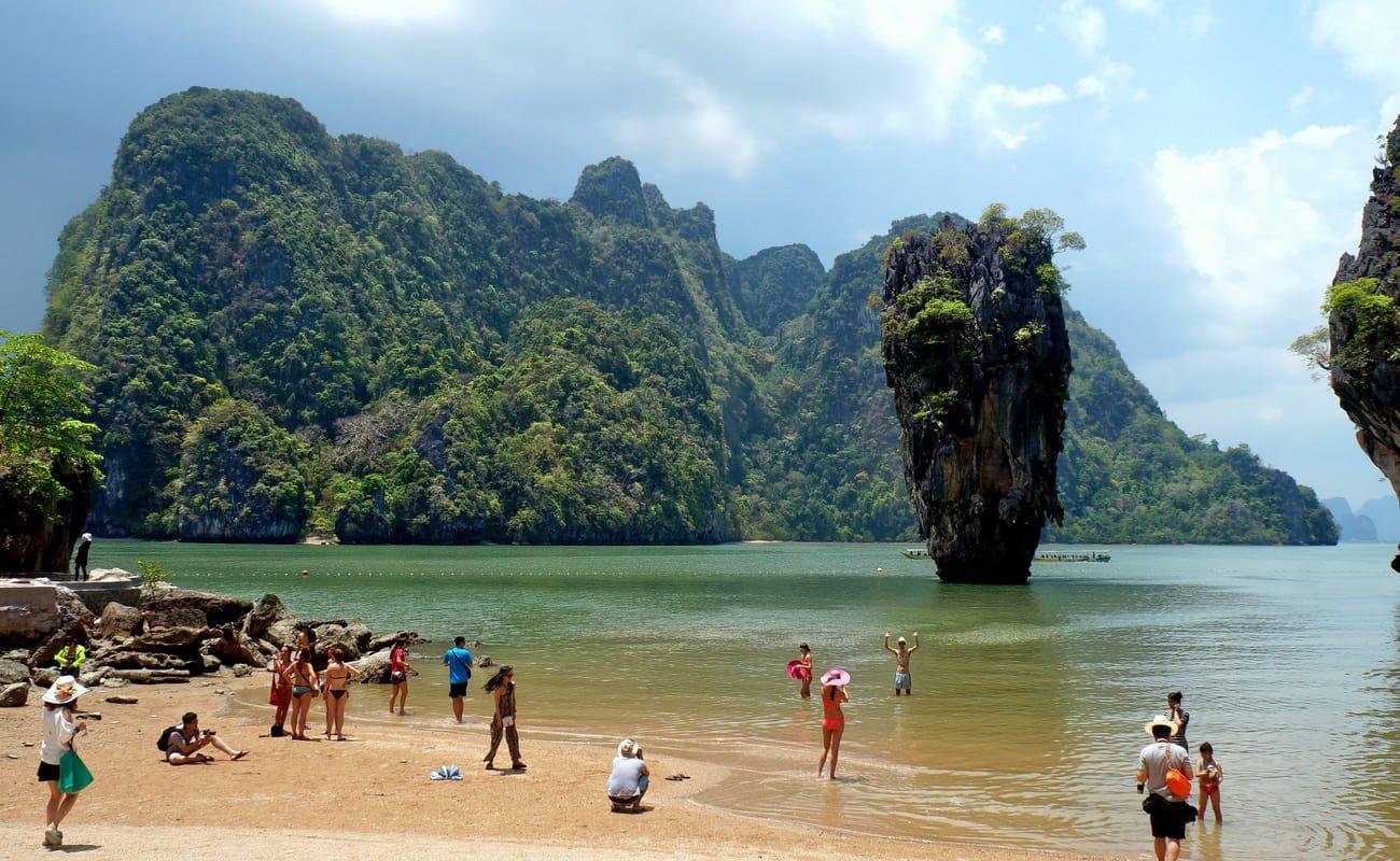 Phang Nga Bay Tour Map