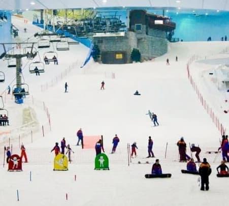 Ski Dubai Ticket in Emirates Mall