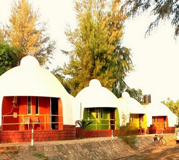 Stay Experience at Igloo Beach Resort in Murud