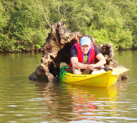 Kayaking Through Nerul Creek in Goa