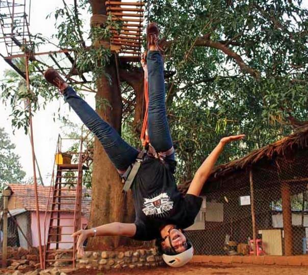 Flying Elephant Zip Lining in Goa