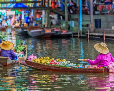 Bangkok Floating Market Day Trip - Flat 35% off
