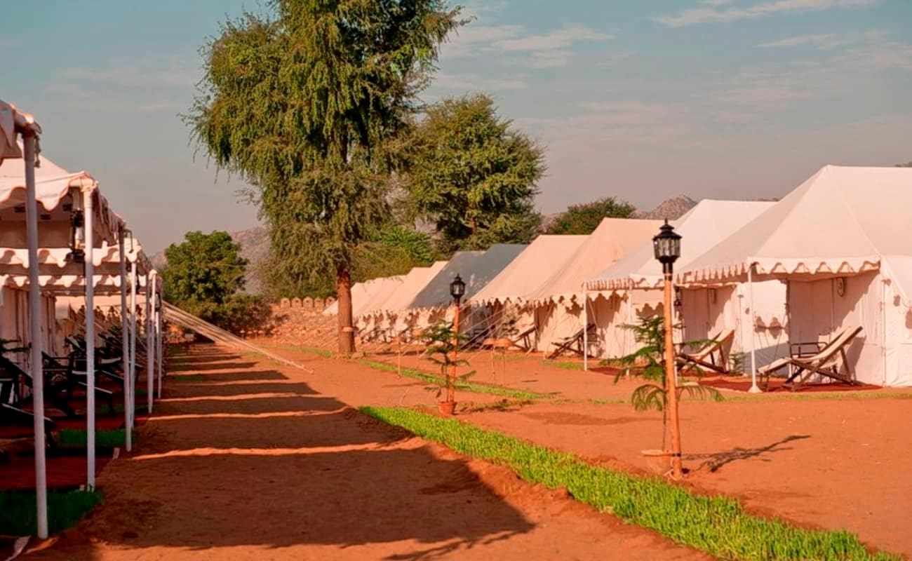 Pushkar adventure desert camp and cottages thrillophilia for Camps and cottages
