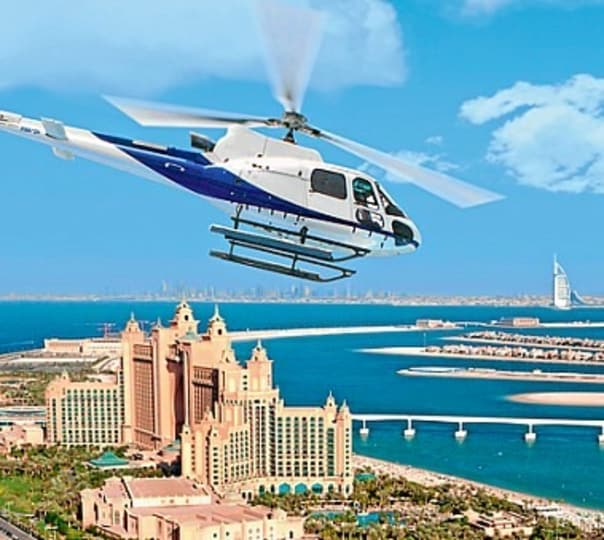 Helicopter Tour to Atlantis the Palm